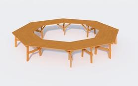 Stół ogrodowy  szkolny  konferencyjny  ALBIN