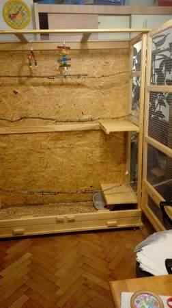 Woliery dla ptaków szerokość 150 cm głębokość 50 cm (5)