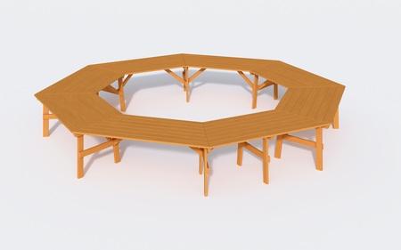 Stół ogrodowy  szkolny  konferencyjny  ALBIN (1)