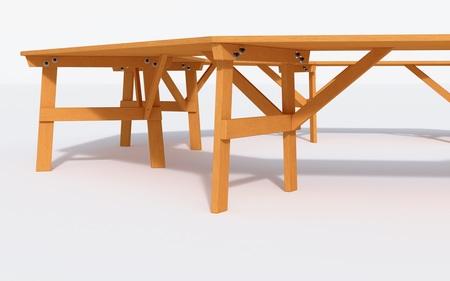 Stół ogrodowy  szkolny  konferencyjny  ALBIN (2)