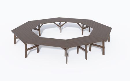 Stół ogrodowy  szkolny  konferencyjny  ALBIN (5)