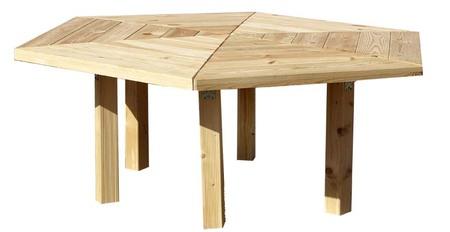 Stół ogrodowy PAWEŁ IMPREGNOWANY (1)