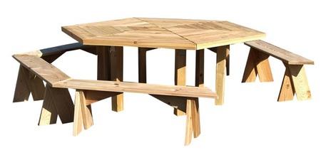 Stół ogrodowy PAWEŁ IMPREGNOWANY (2)