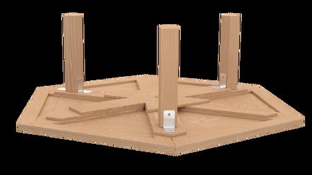 Stół ogrodowy PAWEŁ IMPREGNOWANY (4)