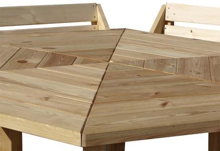 Stół ogrodowy PAWEŁ IMPREGNOWANY (5)