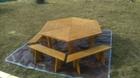 Stół ogrodowy PAWEŁ IMPREGNOWANY (8)